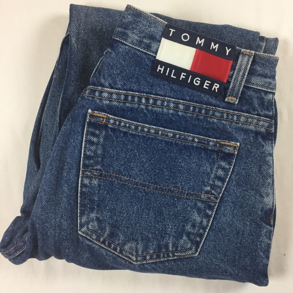 780e5dd3 Vintage Tommy Hilfiger spell out jeans size 10. M_5a50b2922ab8c5fe07002496